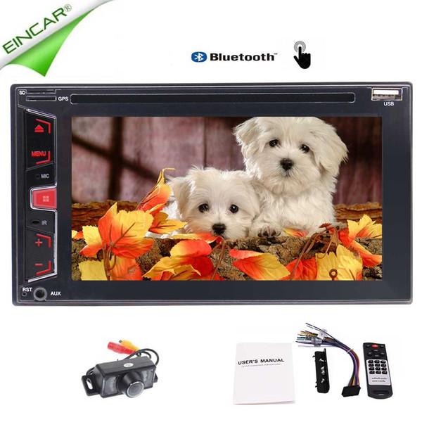 6.2'' Double 2 Din Car Stereo EinCar Car FM/AM Radio Head Units Car DVD Player indash 1080p Video Audio Autoradio Bluetooth