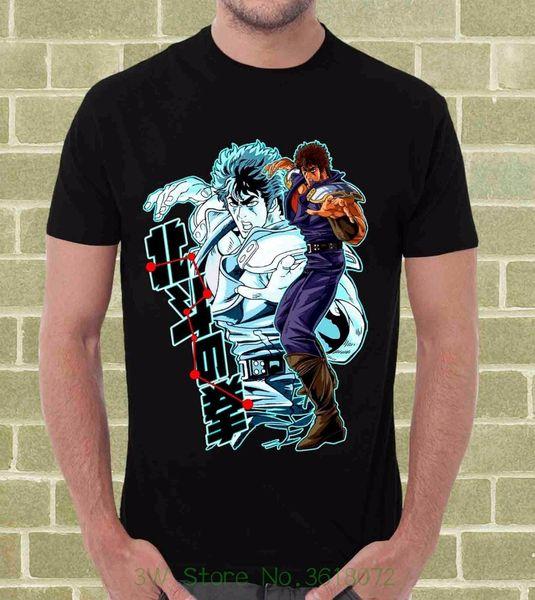 Los hombres de la moda de verano camiseta Ken Il Guerriero Ken Shiro Hokuto no Ken camiseta de dibujos animados por Uomo E Bambino