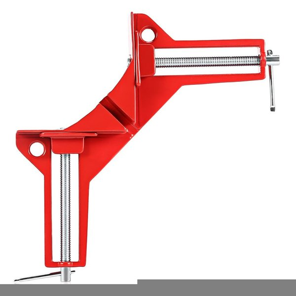 Rugged 90 Degree Right Angle Clamp DIY Corner Clamps Quick Fixed Fishtank Glass Wood Picture Frame Woodwork Right Angle Free Shipping VB