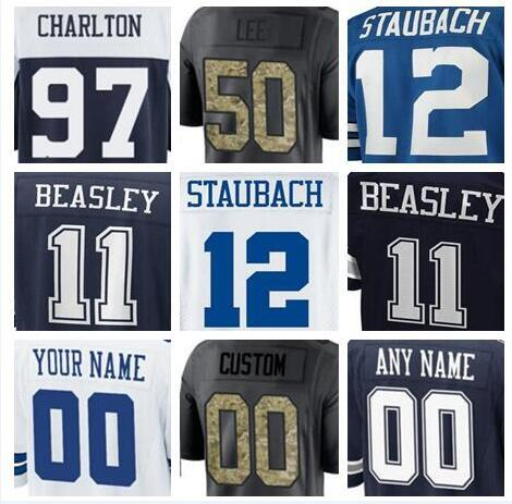 competitive price d946e 9e25c 2019 2018 Dallas Ezekiel Elliott Jersey Cowboys Custom Travis Frederick  DeMarcus Lawrence Authentic Sports Youth Kids American Football Jerseys  From ...
