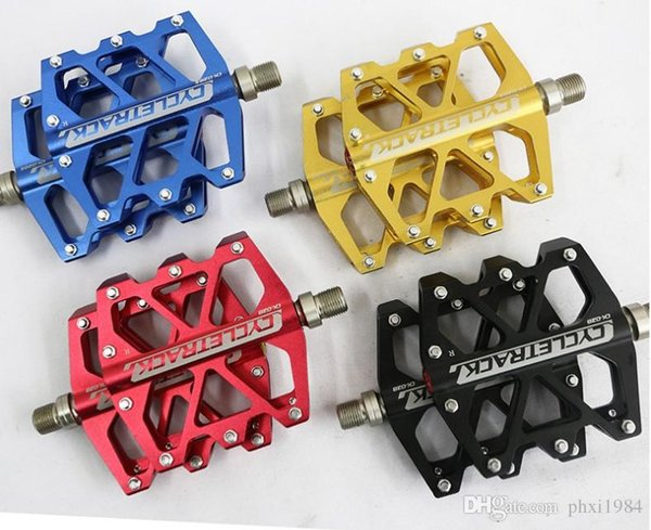 HITO CK-028 Aluminum Alloy ultra light pedal for MTB Road bike pedals wide six-Peilin bearing pedal