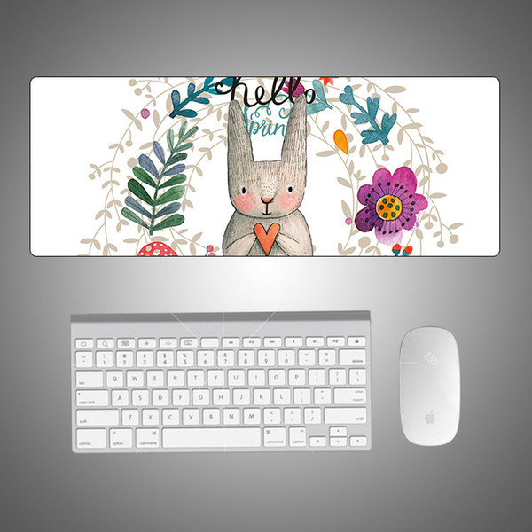 200 pcs Wholesale New Arrival Non-Slip Silicon Keyboard Mouse Pad Custom Your Own Picture And Design For Computer Tablet Pad