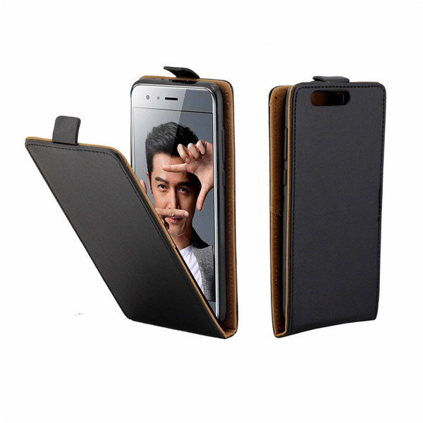 Business Leather Case For Coque Huawei Honor 9 Vertical Flip Cover Card Slot Cases For Huawei Honor 9 Mobile Mobile Phone Bags