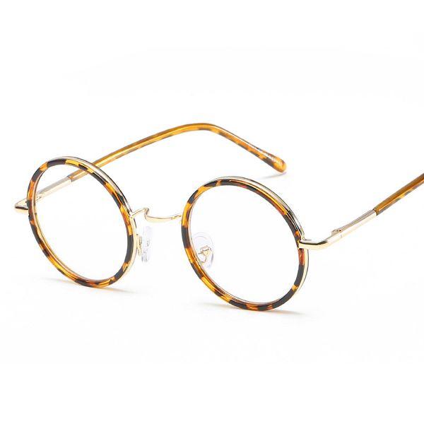 2deb100b6f colorful optical frames Promo Codes - colorful Small Round Glasses Frame  Men Women Vintage Eyeglasses Male
