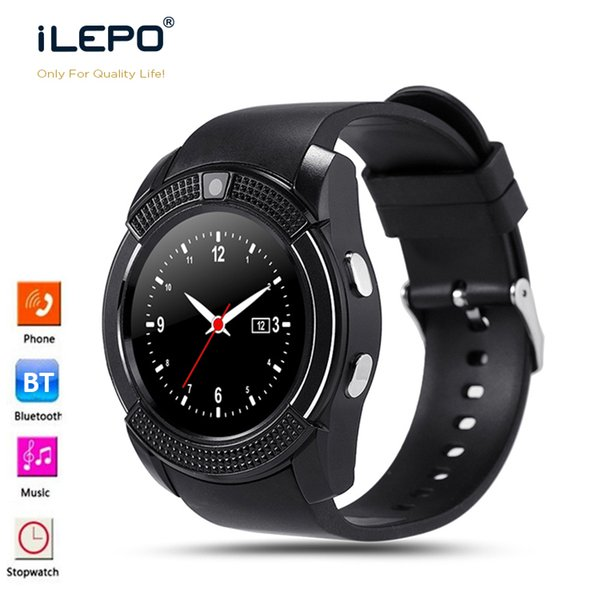 V8 android cell phones watch Smart Watches With Sim TF Card Slot Bluetooth suitable for ios Android xiaomi iphoneX smartphone Smartwatches