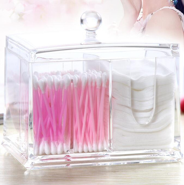 2019 Hot Sale High Quality Holder Box Cotton Swabs Stick Storage Cosmetic  Makeup Organizer Box Case Home Decor,. From Waxer, $29.61