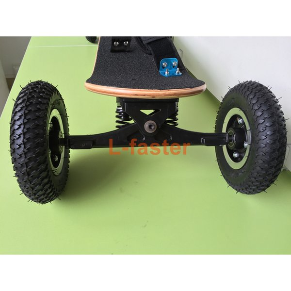 Wholesale-4 Wheels Off Road Skateboard 11 Inch Truck With 8