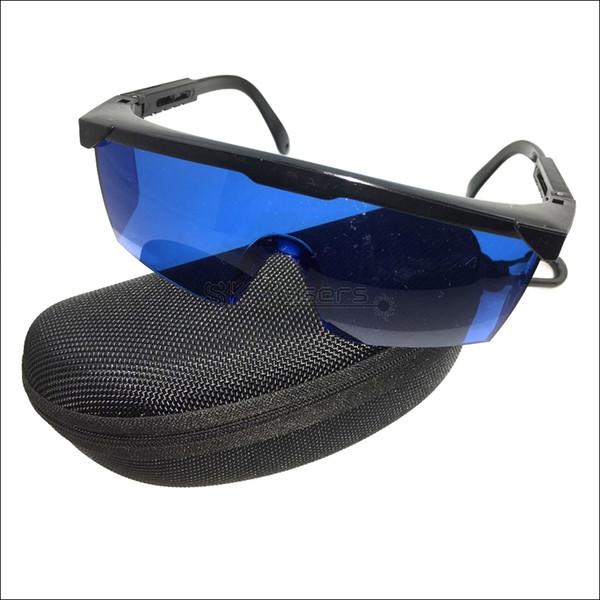 T8S8-C Blue Safety Glasses Goggles For 600-750nm Orange Red Laser pointer