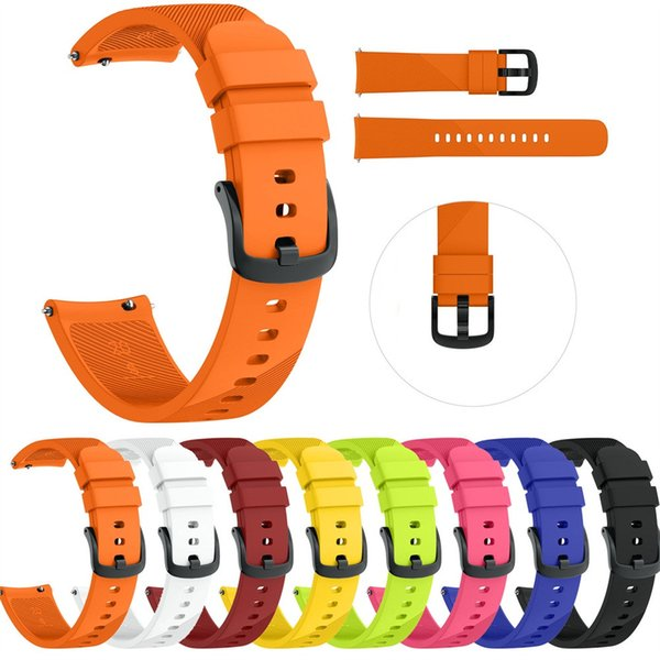 Small Silicone Replacement Watch Band Wrist Strap For Samsung Galaxy Watch 42mm strap silicone nato band
