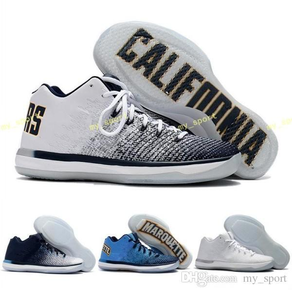 2018 New Arrival 31 XXXI Low California/Michigan/George 31s Basketball Shoes for Top Quality New 31 Training Sports Sneakers Size 7-12
