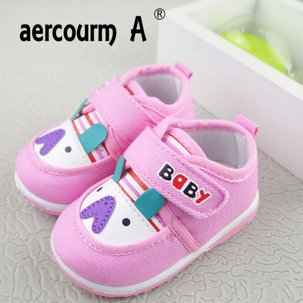 Aercourm A Baby Toddler Shoes 2018 First Walking New Soft Breathable Baby Boys Shoes Canvas Toddler Sneakers 0-1-2 Years