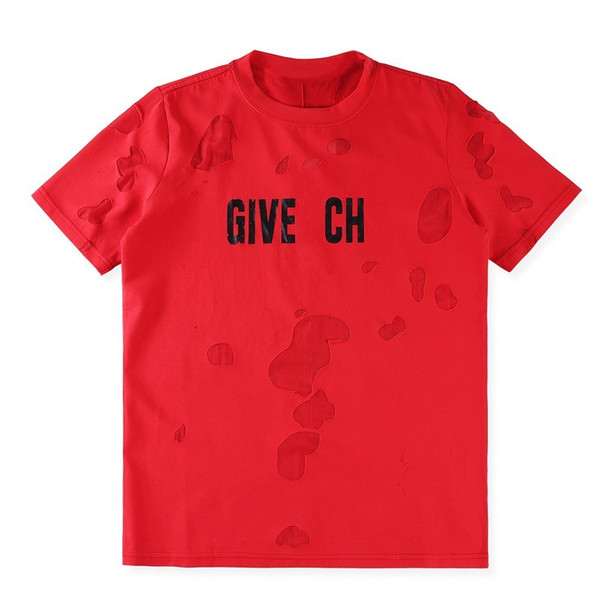 2018 Männer T-Shirt Rundhals Drei Farben des Lochs Wear Short Sleeve Europäischen Monroe Figurendruck Außenhandel Produkte Mode