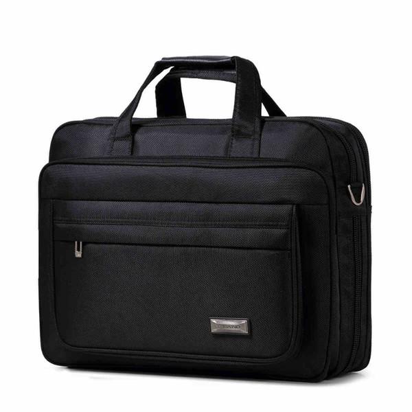13-17 Inch briefcases Men's Large business Oxford laptop briefcase 15.6inch handbags laptop bag