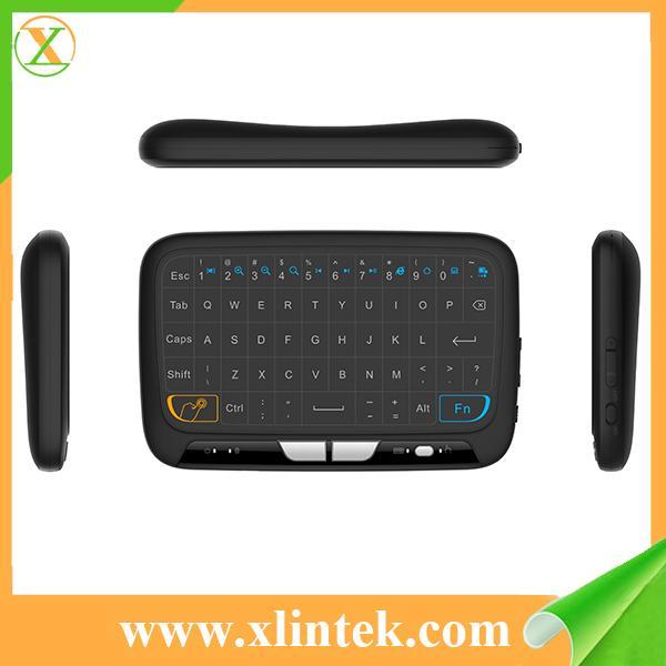 Беспроводная мини-клавиатура тачпада H18 высокого качество с самым лучшим интерфейсом USB цены для Android TV коробки