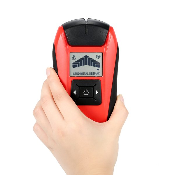 Multifunctional LCD Wall Detector Handheld Stud Finder Metal Wood Studs AC Cable Live Wire Scanner Tester diagnostic-tool