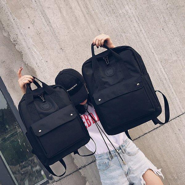 High Quality Fashion Waterproof Women Backpack for School Teenagers Girls Stylish School Bag Ladies Canvas Backpack Female