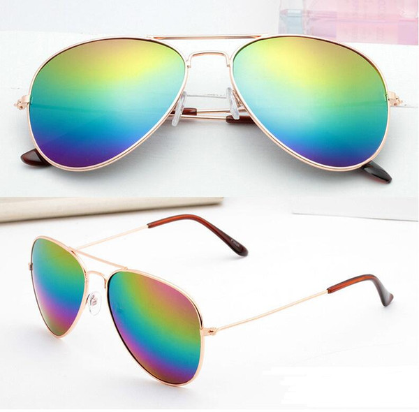 Fashion Eyewear women sunglasses sunglass Transparent eyes yurt Driving sunglasses Beach sunglasses Pilot sun glasses 9 Colors 20 pairs