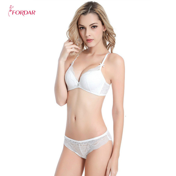 wholesale Thickening SeamlessThree Hook-and-eye Button Push Up Underwear Bra Set Bra and Panty Set Underwear Lingerie