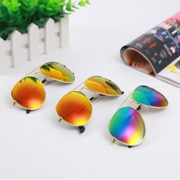 3026 children reflective frog mirror color sunglasses sunglasses glasses