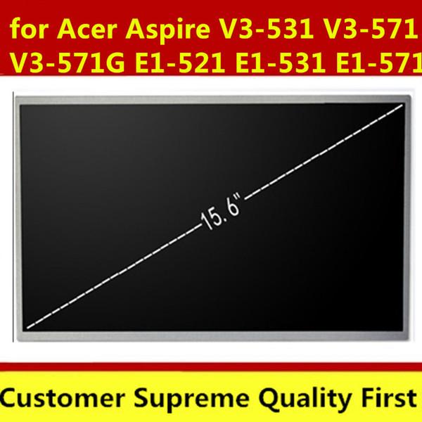 Laptop LCD Screen for Acer Aspire V3-531 V3-571 V3-571G E1-521 E1-531 E1-571 Q5WV1 Series (15.6 inch 1366x768 40pin )