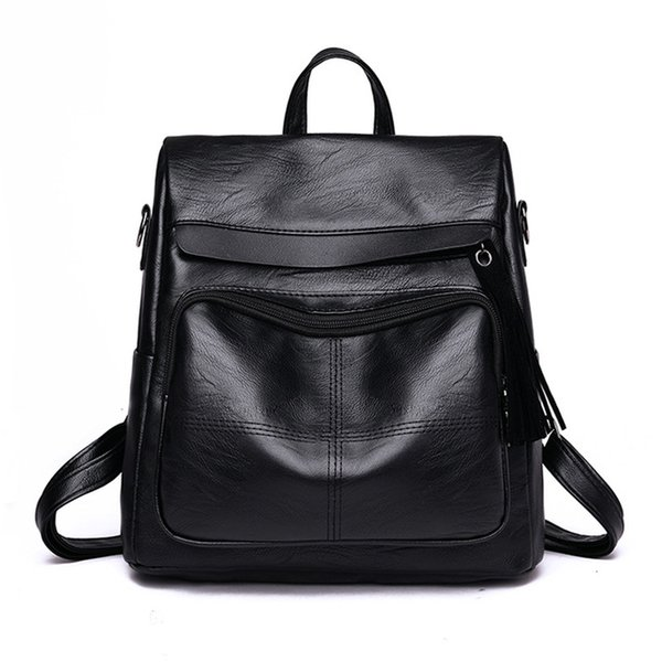 black backpacks