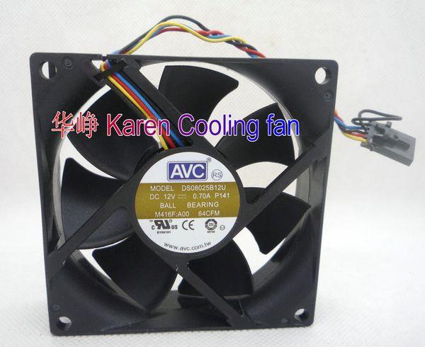 top popular Original AVC DS08025B12U 8CM 8025 12V 0.70A DA06015B12U 60*60*15mm 0.35A Cooling fan 2021