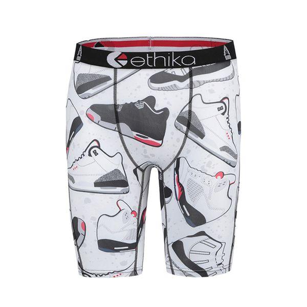Shoes Hulk Hollywood Indian printing Quick dryinge Cotton Ethika boxers men cuecas boxers de marca boxer shorts men underwear long leg boxer