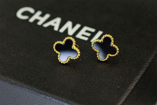 zhu Ear Cuff Dangle Chandelier Back Hoop Huggie Knot Stick Stud Earring Includes box dust bag