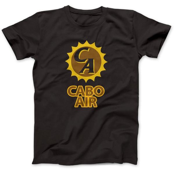 2018 Son Moda Cabo Hava Jackie Brown T-Shirt 100% Prim Pamuk Esinlenerek Quentin Tarantino Baskı Yaz Tees Tops