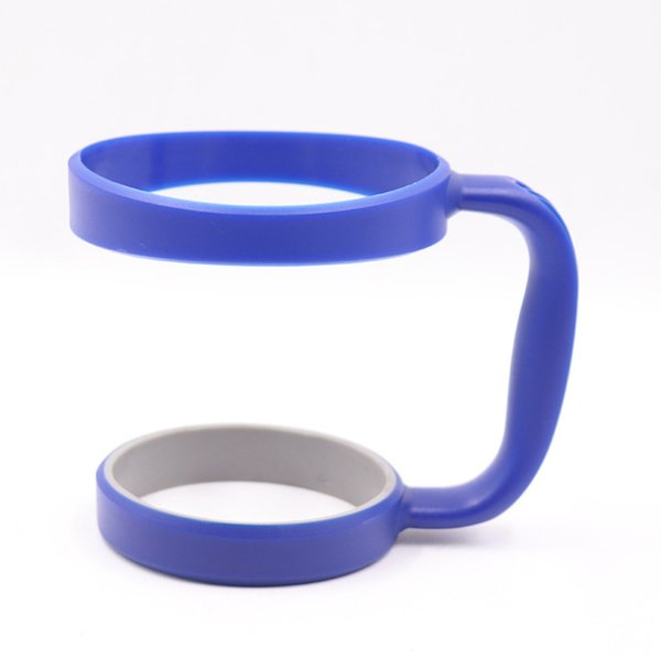 Hot Sale Anti-slip Plastic Cup Handle Cup Holders Stainless Steel Insulated Tumbler Mug Handle Plastic Hander 9 colors for 30oz