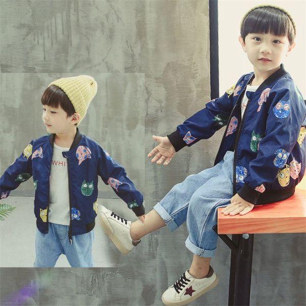 2018 новая весна осень детская куртка верхняя одежда малыша маленький с длинным рукавом повседневная камуфляж куртка Детская одежда бесплатно