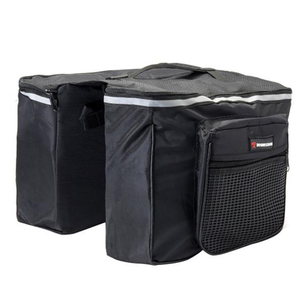 New 25L Black Color Cycling Bicycle bag Bike bicicleta Carry Rear Seat Trunk Bag bike pannier bisiklet aksesuar accessories
