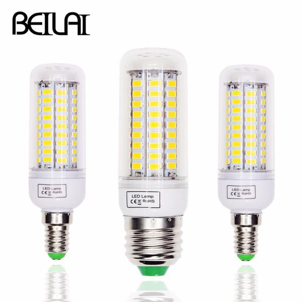 Lampada Led E14 Para Lustre.Compre Lampada Led E27 Lampada Led E14 220 V 5730 Luz De Milho Lampada Lampadas Lustre Vela Para Decoracao De Casa Substituir Luz Filamento De Fried