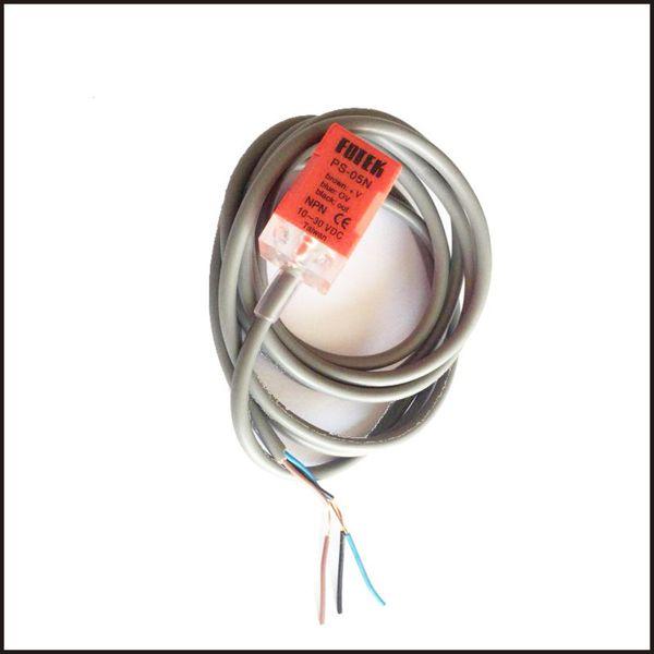 PS-05N NPN FOTEK Inductive Proximity Switch Sensors 10-30VDC DC 3 Wire Sensing Distance 5mm High Quality 5PCS