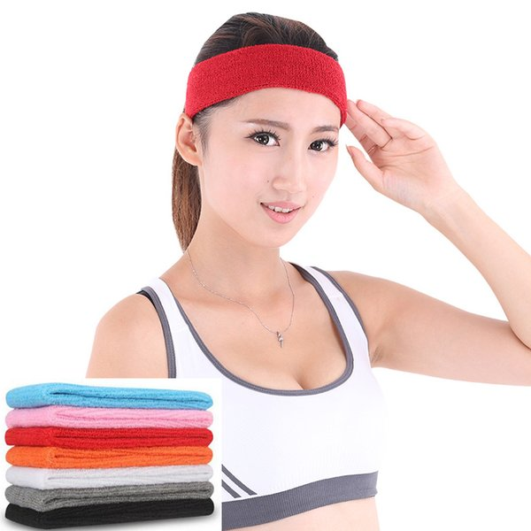 Absorbing Sweatband Yoga Headband Elasticity Turban Sports Sweat Hair Bands Ladies Headwear Hair Accessories