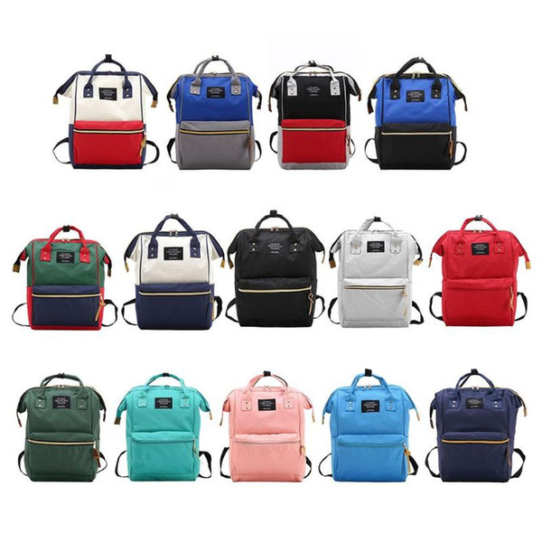 top popular Fashion Mummy Maternity Nappy Bag Large Capacity Baby Bag Travel Backpack Designer Diaper Nursing for Baby Care 2021
