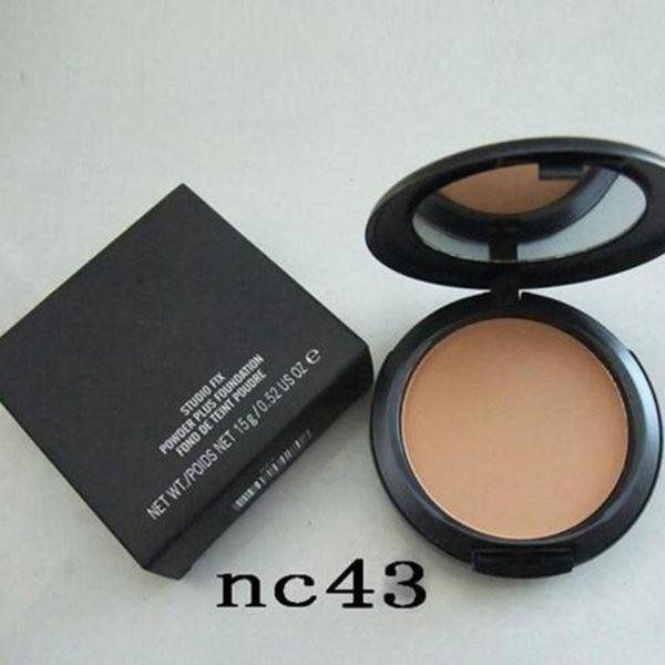 2018 Hot Makeup Studio Fix Face Powder Plus Foundation 15g Volume High Quality DHL Free shipping