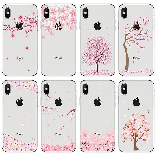 coque iphone xs max fleur de cerisier