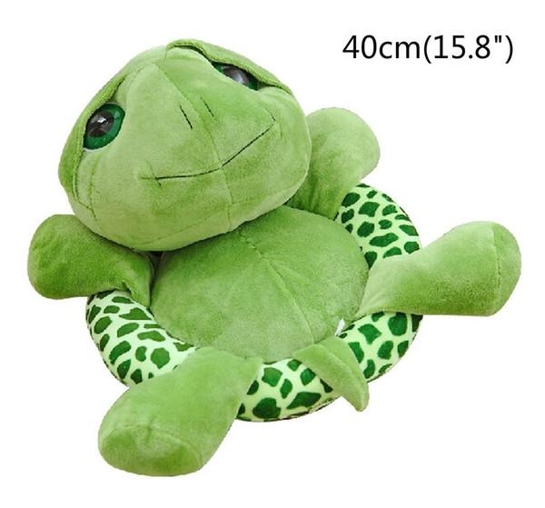 "40cm(15.8"") Large Tortoise Stuffed Animals Doll Soft Plush Toy Lifelike Giant Plush Toys Tortoise Pillow Large Realistic Stuffed A1"