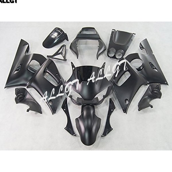 Matte Black ABS Injection Motorcycle Fairings Kit for 98 99 00 01 02 Yamaha YZF600 YZF R6 1998 1999 2000 2001 2002 Bodywork Part