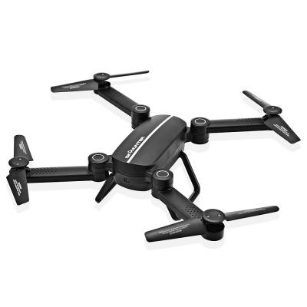 Drone plegable WIFI FPV 0.41MP Cámara Quadacopter APP Control Selfie Helicóptero Altitud Mantener sin modo Modo RC Drone