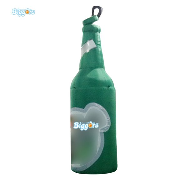 Hot sale giant inflatable beer bottle for advertising