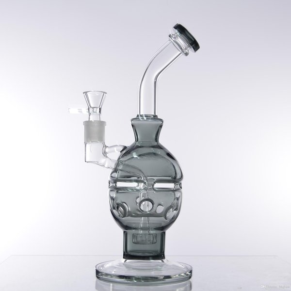 glass bong 11 inch fab egg bong with 18.8mm bowl skull hand blow feb water faberge egg glass bong pipe hookah