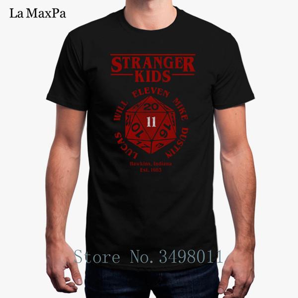 Mode Fremden Fremde T-Shirt Coole Oansatz T-shirt Herren Kleidung S-3xl T-shirt Männlich Tops Camisas