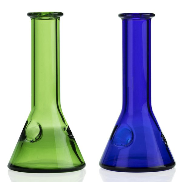 5 Inch smoking water pipes heady beaker pipes glass hand pipe colorful pyrex spoon bubbler pipe mini glass bong pipe somking accessories