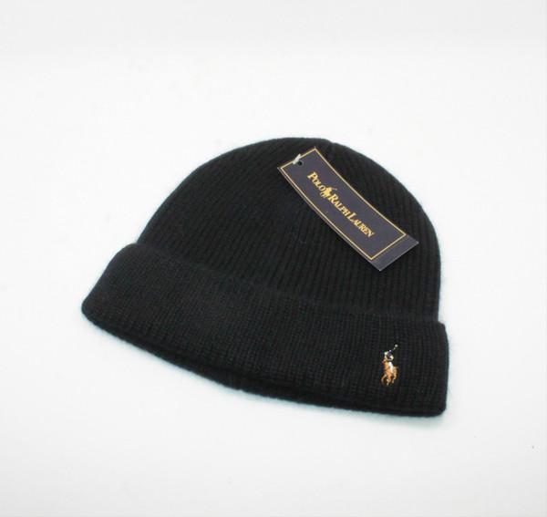136a1435 2018 winter Fashion men beanie women knitted hat casual sports cap keep warm  ski gorro top