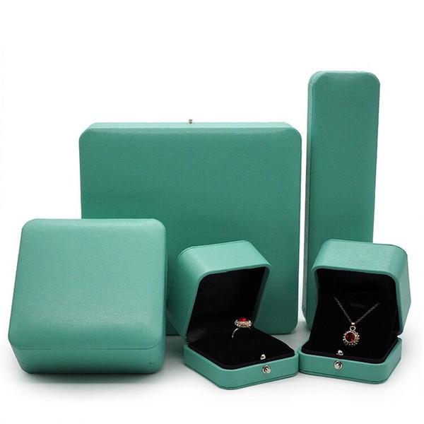 Fashion Branded famous brand bracelet neckalce ring boc package set original handbag and velet bag jewelry gift box free shippinx