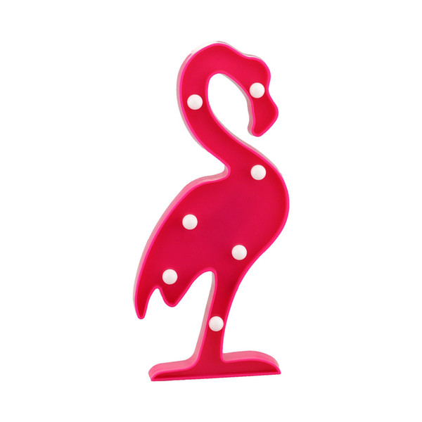 CHIBUY 3D Flamingo Lamp LED Light Hanging wall or stand Night Light fixtures Table Lamp Home Decor Christmas Party