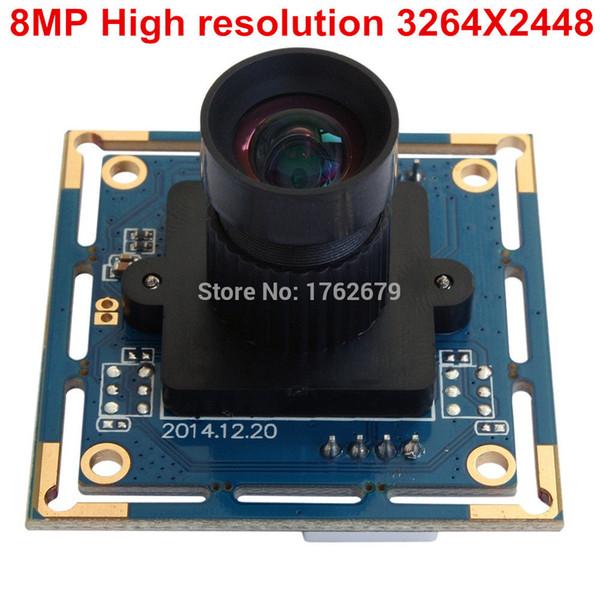 8MP HD Mjpeg usb camera Sony IMX179 sensor mini OEM usb2.0 webcam video security camera module mini for industrial application
