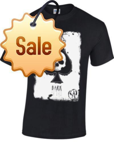 2018 Лето повседневная человек футболка ACE OF SPADES футболка pour hommes femmes tete de mort хип-хоп повседневная одежда